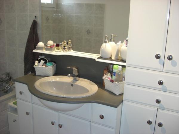 Sichtschutz Holz VerschOnern ~ Badezimmer Verschönern Dekoration  badezimmerideen dekoration  ein