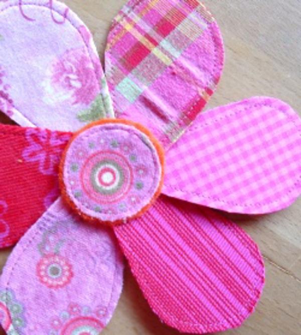 blumendekoration-selber-gemacht-rosige-farbe - niedlich aussehen