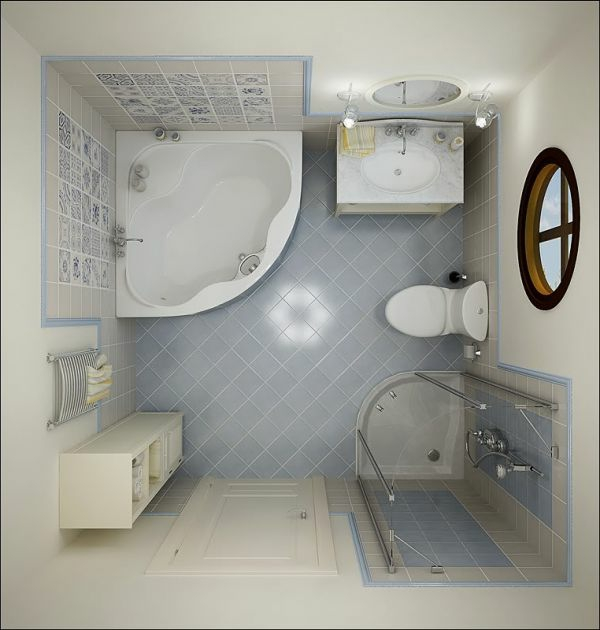 bodenbeläge-fürs-bad - von oben gemachtes foto