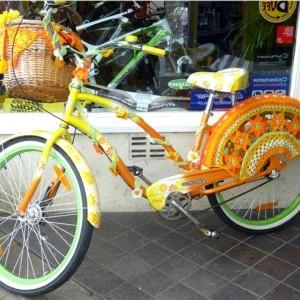 Fahrrad Deko - 25 atemberaubende Bilder