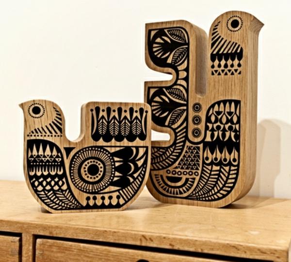 Deko aus holz 27 verbl ffende ideen Holz dekoartikel