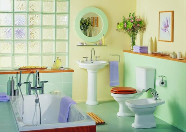 dekoartikel-für-badezimmer-lustig-aussehen - helle farben