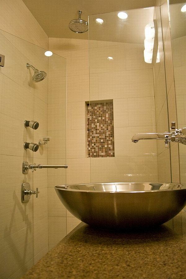 Kleines Bad Ideen - 57 Wunderschöne Vorschläge - Archzine.net Designer Badewannen Moderne Bad