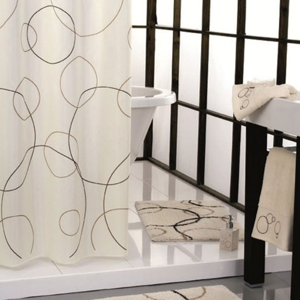 marimekko duschvorhang ultramodern und super funktionell. Black Bedroom Furniture Sets. Home Design Ideas