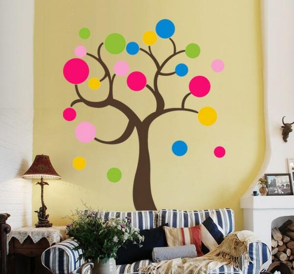 Babyzimmer wandgestaltung selber malen  Kinderzimmer streichen - lustige Farben für eine freundliche ...