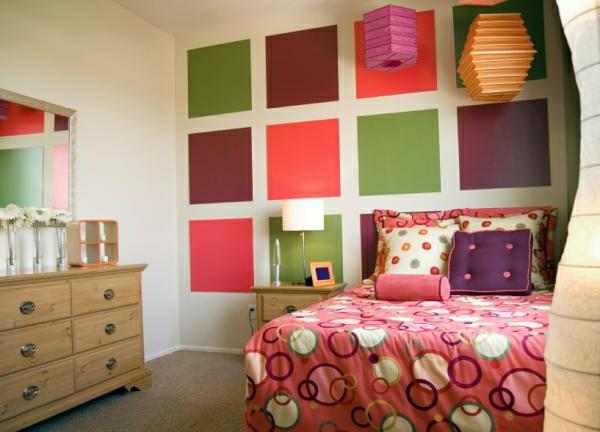 farbkombination-schlafzimmer- sehr gut dekoriert