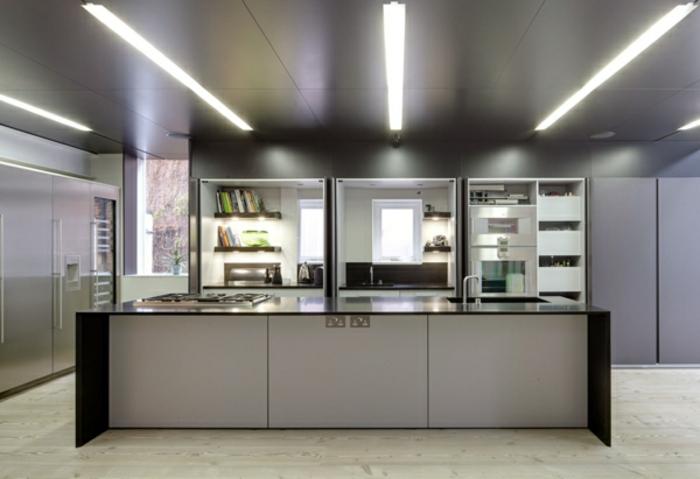 farbpalette-wandfarben-große-küche-in-grau