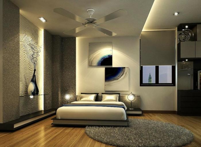 Modernes schlafzimmer braun  Mehr als 150 unikale Wandfarbe Grau Ideen! - Archzine.net