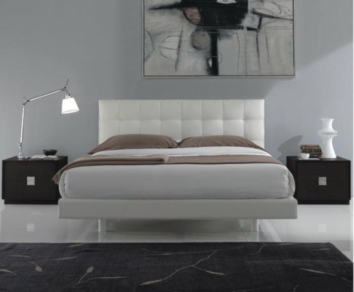 ... Kleines Schlafzimmer Streichen By Schlafzimmer Grau Streichen Wandfarbe  Grau Im Schlafzimmer ...