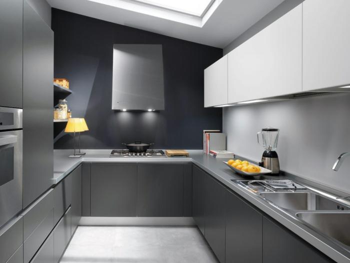 farbtabelle-wandfarbe-grau-große-küche