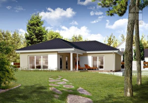 Fertigh user im bungalowstil 43 atemberaubende beispiele for Fassadengestaltung beispiele bungalow