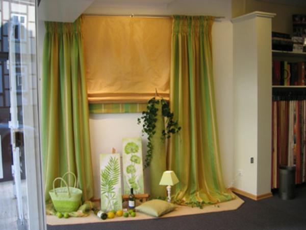 gardinen-modern-helle-farben - moderne ausstattung