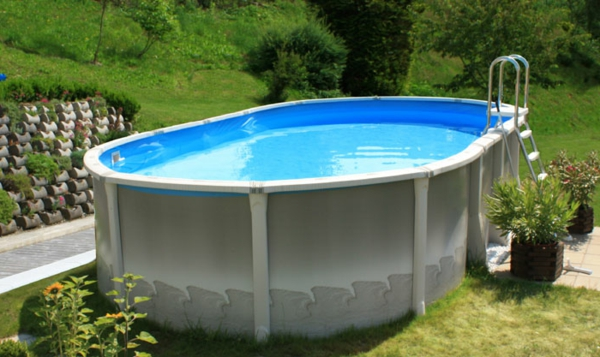 awesome pool fur garten oval ideas - whartonsoccer, Gartenarbeit ideen