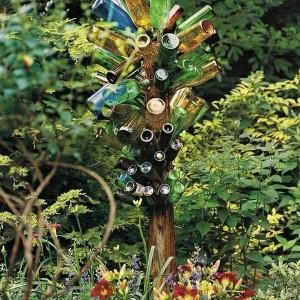 30 kreative Ideen für selbstgemachte Gartendeko