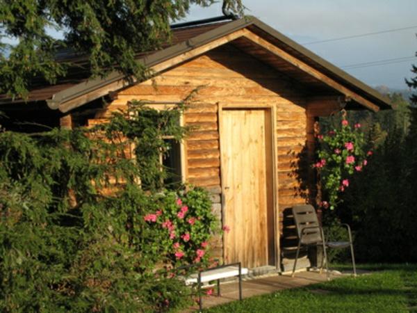 Gartenhaus schwedenstil grau  Gartenhaus Schwedenstil - ultramodern und super bequem - Archzine.net