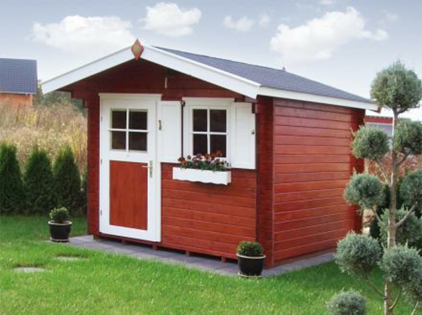 Gartenhaus schwedenstil  Gartenhaus Schwedenstil - ultramodern und super bequem - Archzine.net