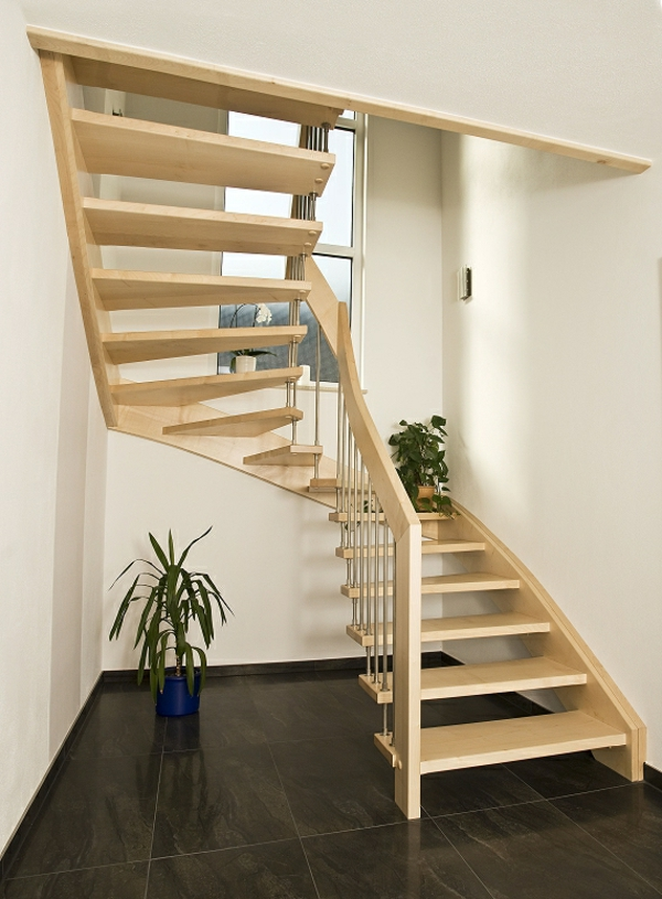 halbgewendelte treppe konstruieren. Black Bedroom Furniture Sets. Home Design Ideas
