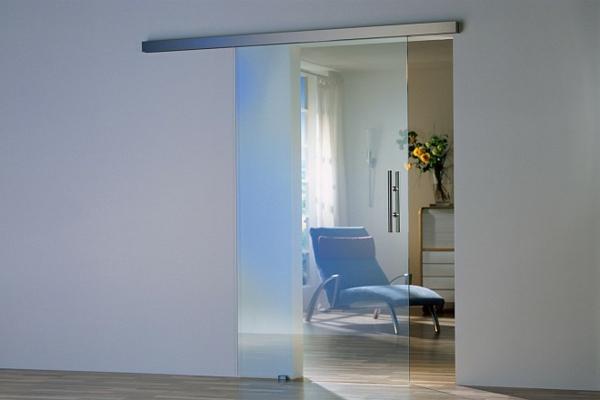 glastür-einbauen- im modernen haus