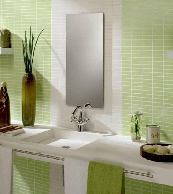 Bad mit Mosaikfliesen - 34 interessante Ideen - Archzine.net