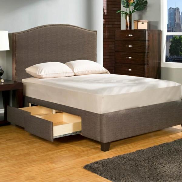 polsterbett mit bettkasten eine geniale idee f r ihr. Black Bedroom Furniture Sets. Home Design Ideas