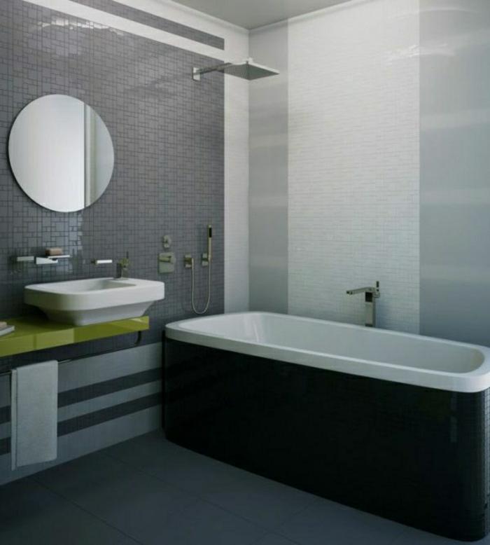 grautöne-wandfarbe-badezimmer-badewanne-runder-spiegel