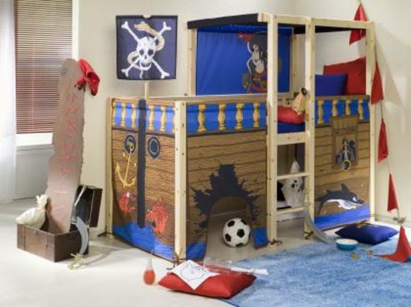 Piraten Kinderbett macht so viel Spaß! - Archzine.net