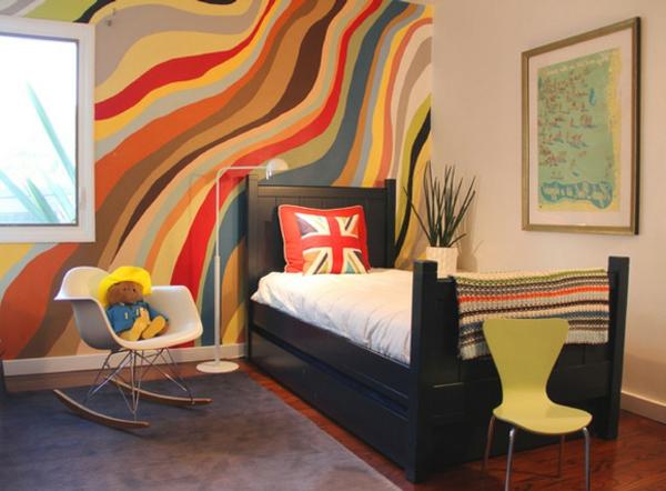 kinderzimmer streichen lustige farben f r eine. Black Bedroom Furniture Sets. Home Design Ideas