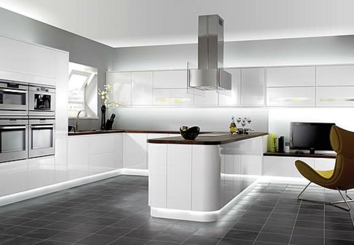 ideen-zum-streichen-in-der-küche-wandfarbe-hellgrau