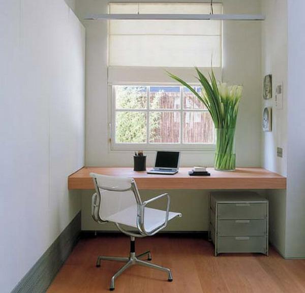 ikea-büromöbel-schön- weißer stuhl auf rollen