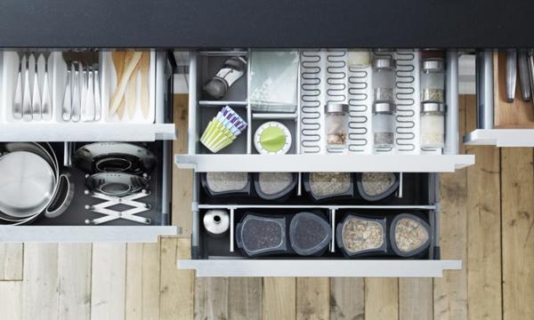 edelstahl küche - 58 elegante beispiele - archzine.net - Schubladen Für Küchenschränke