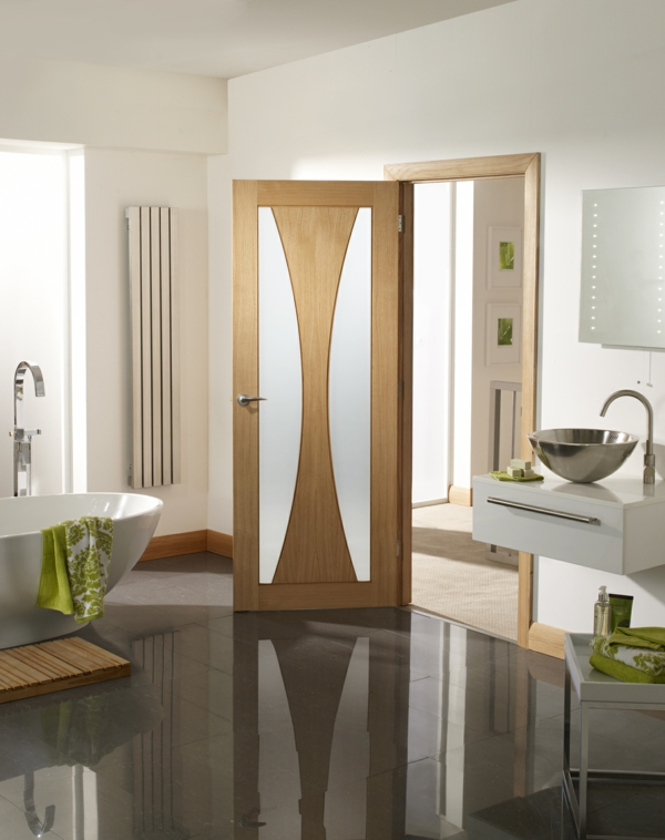 Innentüren aus Glas für einen eleganten Look - Archzine.net