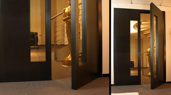 innentüren-glas-sehr-modern- massivholz