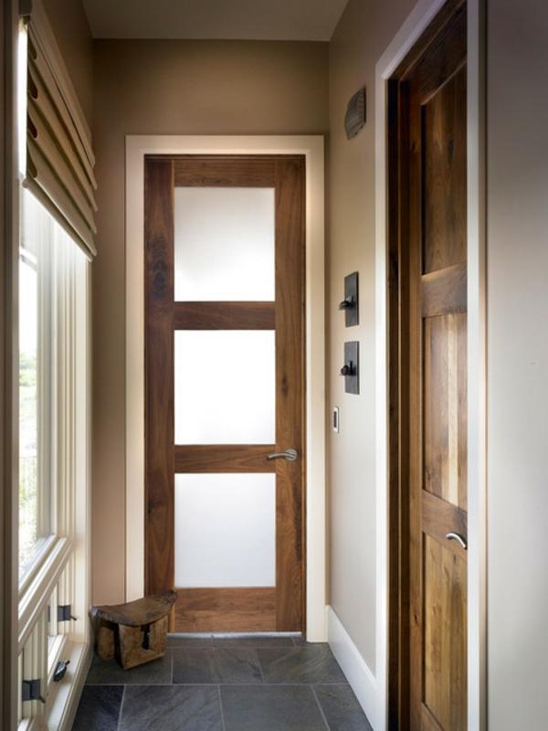 innentüren-holz-glas-sehr-schmal - modern gestaltet