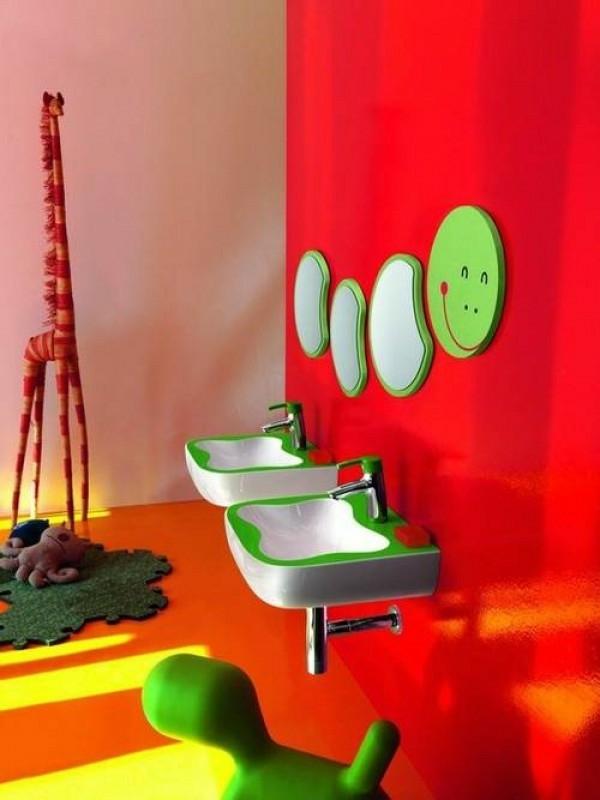 badezimmer dekoration mit interessanten elementen - lustig aussehen