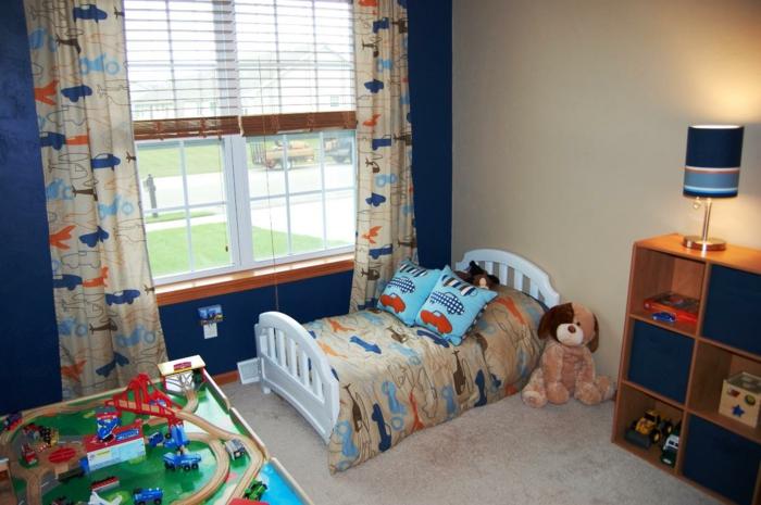 jungen-kinderzimmer-gestalten-tapeten-für-babyzimmer
