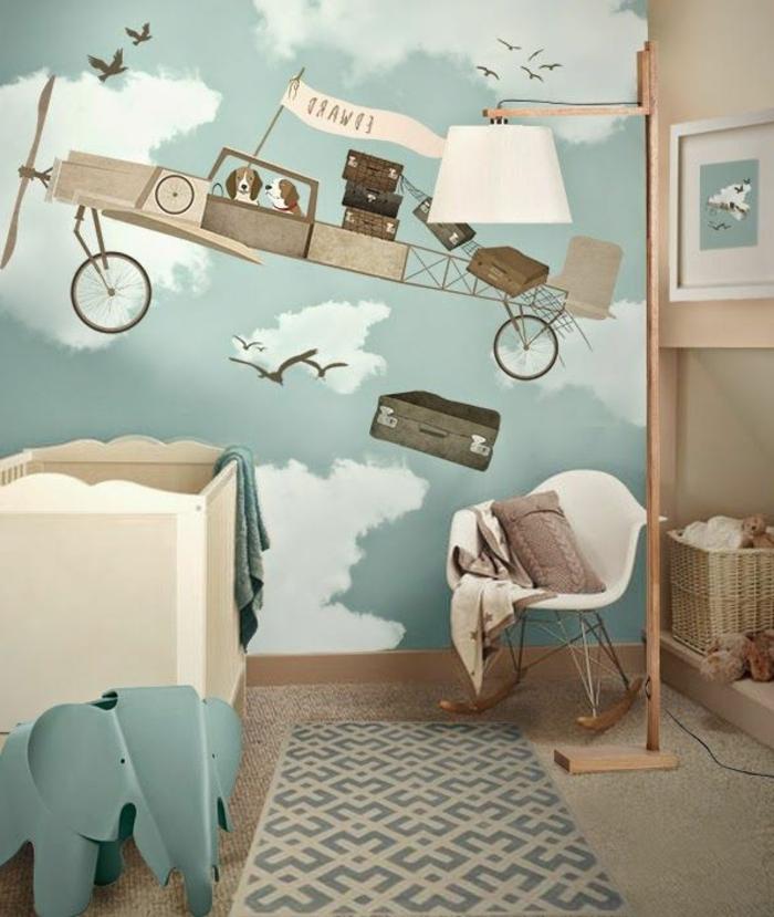 jungenzimmer-einrichten-wanddekoration-für-kinderzimmer