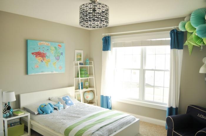 jungenzimmer-gestalten-wanddekoration-für-jungenzimmer