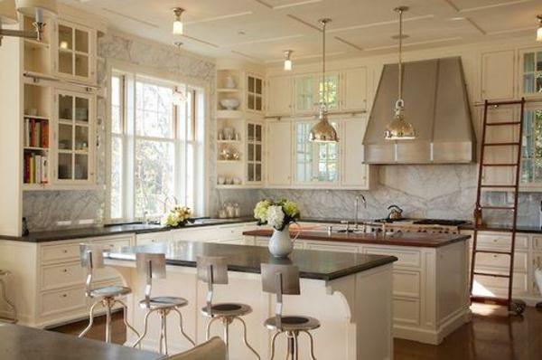 45 neue ideen für küche mit insel - archzine, Moderne deko