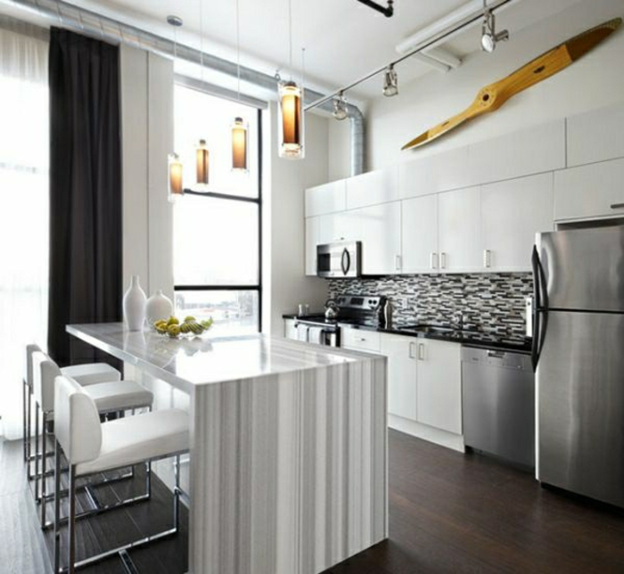 küche-modern-gestalten-wandfarbe-grau-super-farben-mischen
