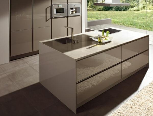 küchenblock-ikea-edelstahl - moderne küche ausstatten