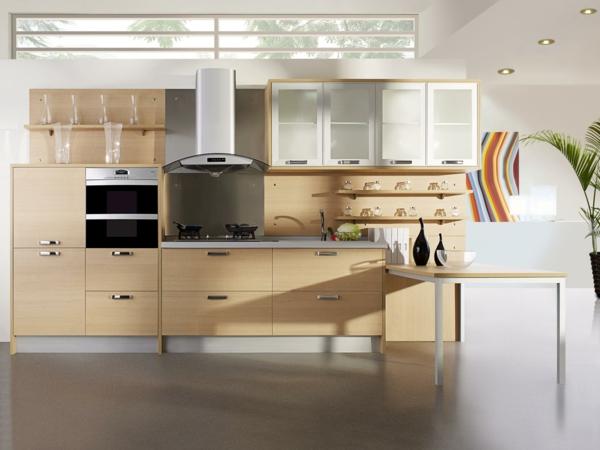 küchenmöbel-selber-bauen- holz - schönes interieur