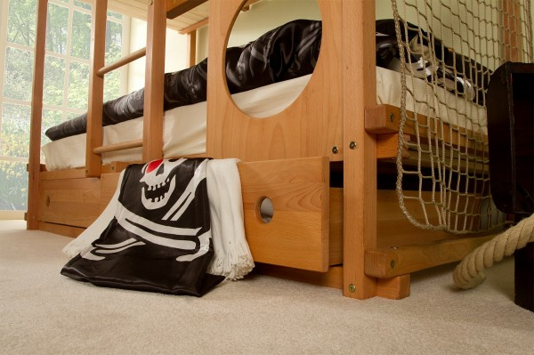 abenteuerbetten f rs kinderzimmer 25 atemberaubende bilder. Black Bedroom Furniture Sets. Home Design Ideas