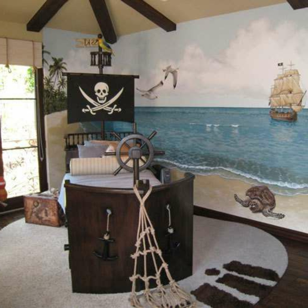 kinderbett selber bauen schiff. Black Bedroom Furniture Sets. Home Design Ideas