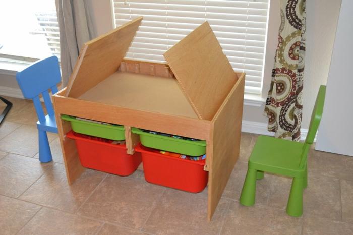 kinderschreibtisch-selber-bauen-auffällige- ideen