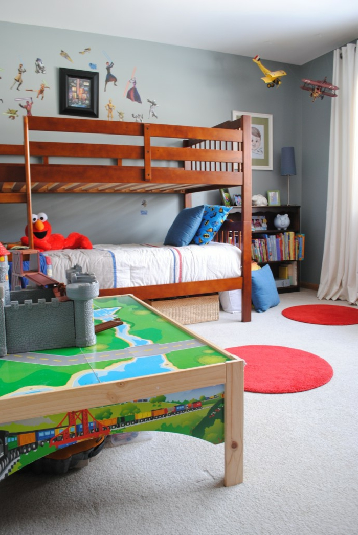 gardinen deko gardine kinderzimmer junge gardinen. Black Bedroom Furniture Sets. Home Design Ideas