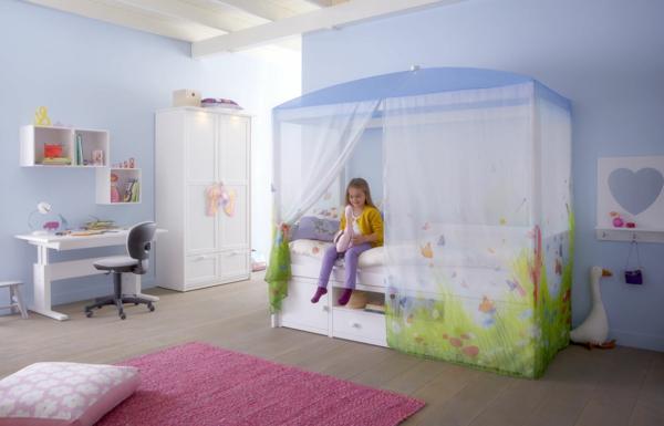 himmelbett kinderzimmer bestseller shop f r m bel und einrichtungen. Black Bedroom Furniture Sets. Home Design Ideas