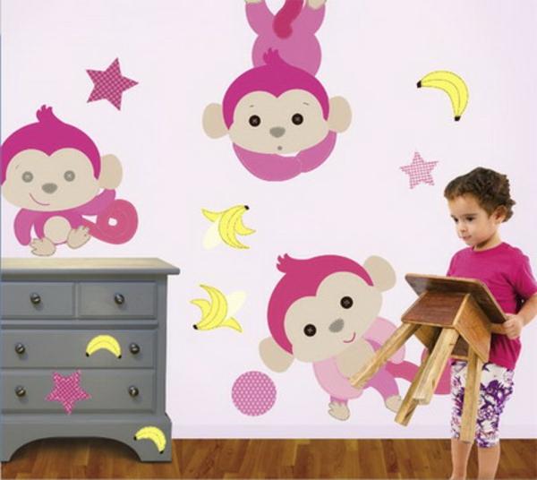 schlafzimmer streichen ~ Wände streichen ideen kinderzimmer streichen