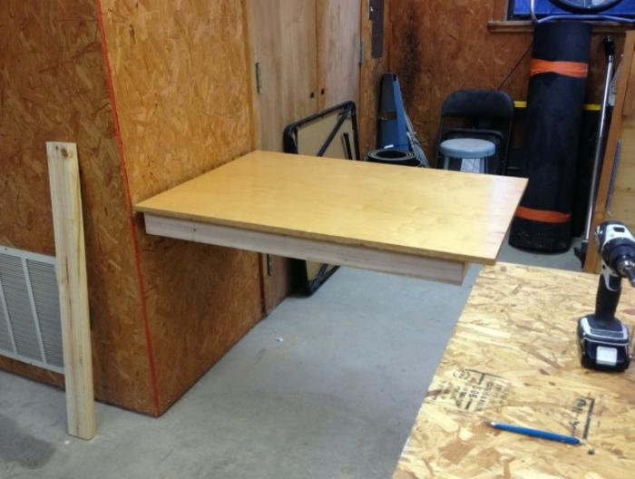 Schreibtisch Selber Bauen   Hölzernes Modell