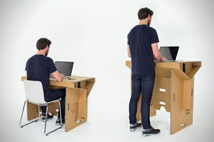 Schreibtisch selber bauen -106 originelle Vorschläge ...