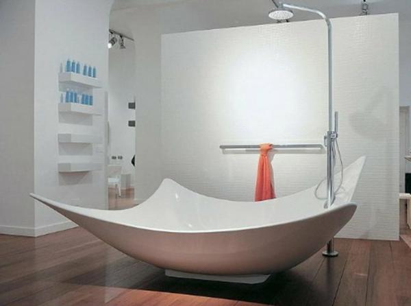 kleine-bäder-ideen-originelle-duschkabine  - eigenartige form
